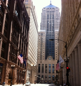 Chicago Landmark, house of the Chicago Board of Trade